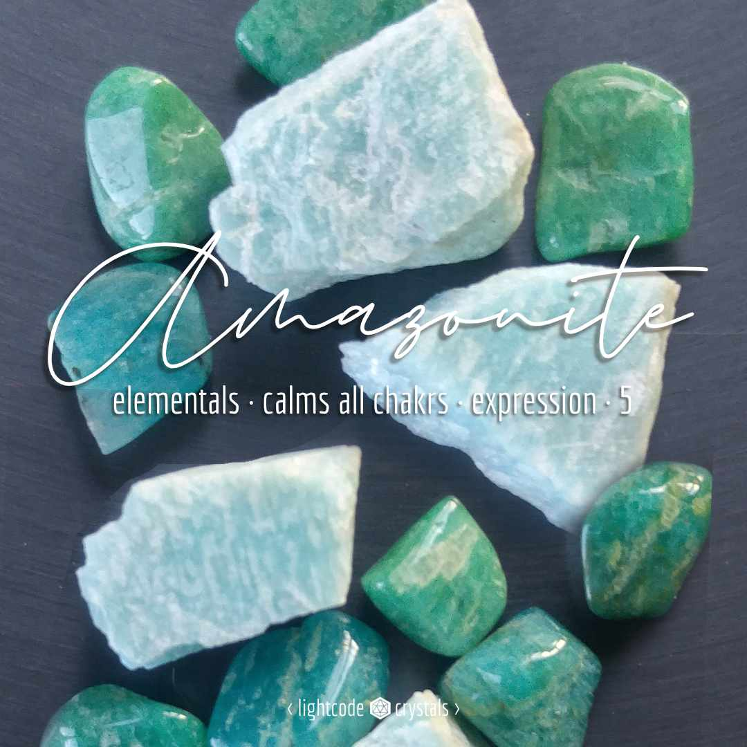 amazonite crystal meaning
