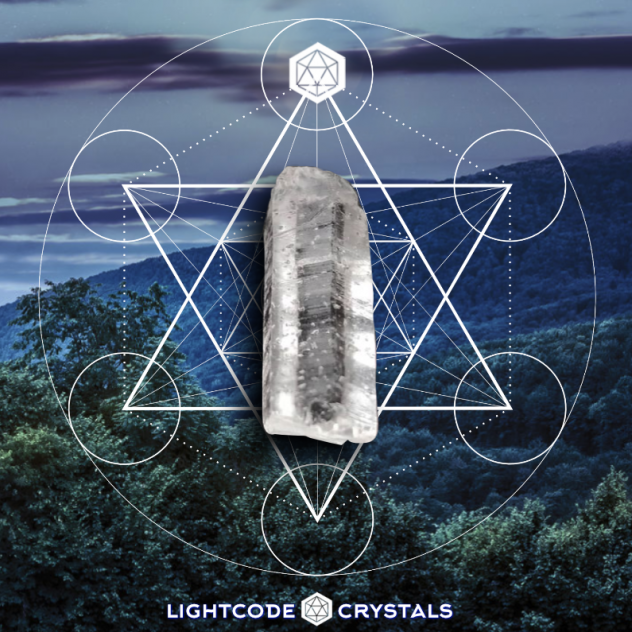 lightcode crystals logo square metatrons cube